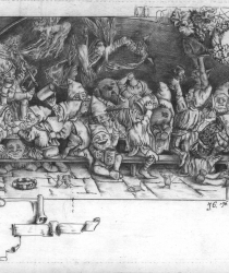 Dwarfs Feast. Sold