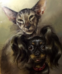 Family pets. Sold
