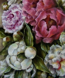 Peonies. Sold