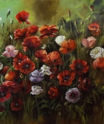 Poppies. Sold