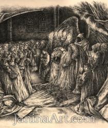 Ilustrācijas Edgara Po poemai