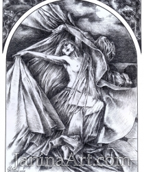 Ilustrācija Oskara Vailda lugai