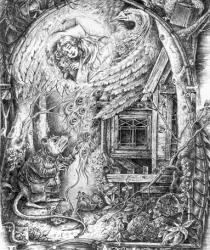 Ilustrācija pasakai