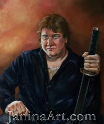 Vīra portrets