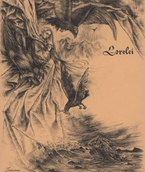 Иллюстрация к поэме Г. Гейне