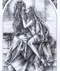 Иллюстрация к пьесе Оскара Уальда