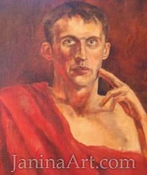 Портрет мужчины. Продано