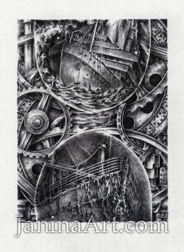 Поток времени (посвящается памяти Титаника)